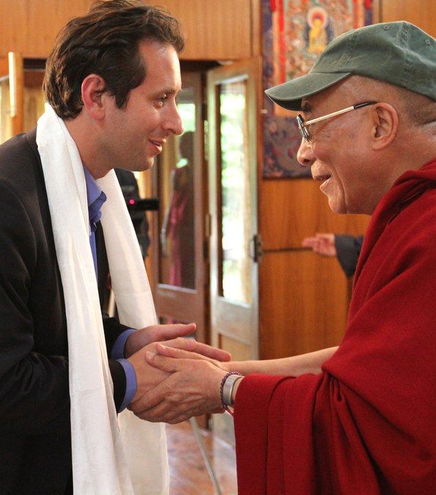 Garfield and the Dalai Lama