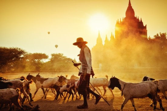 Bagan, Myanmar. Merit Winner – National Geographic Traveler Photo Contest.