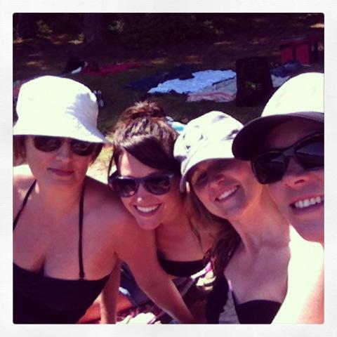 Lori, me, Leah, Kylee
