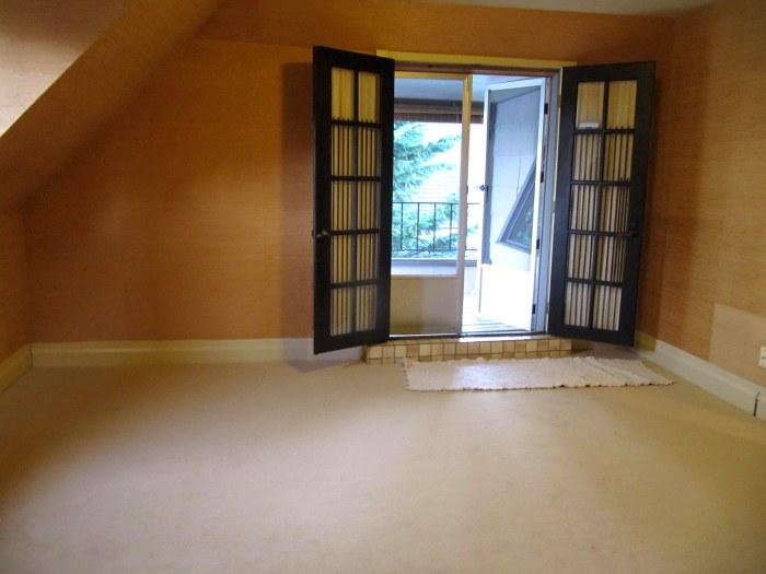 Bdrm Patio doors