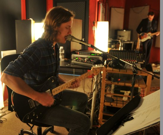Writing and recording demos for our new album, in Victoria BC. Photo by Norm LeBus.